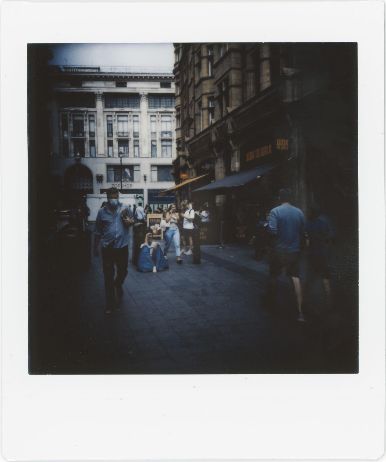 Photograph 16: side street, Oxford Circus.
