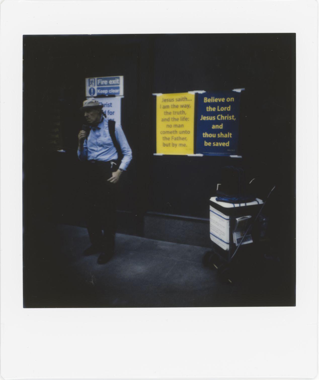 Photograph 12: Oxford Circus.