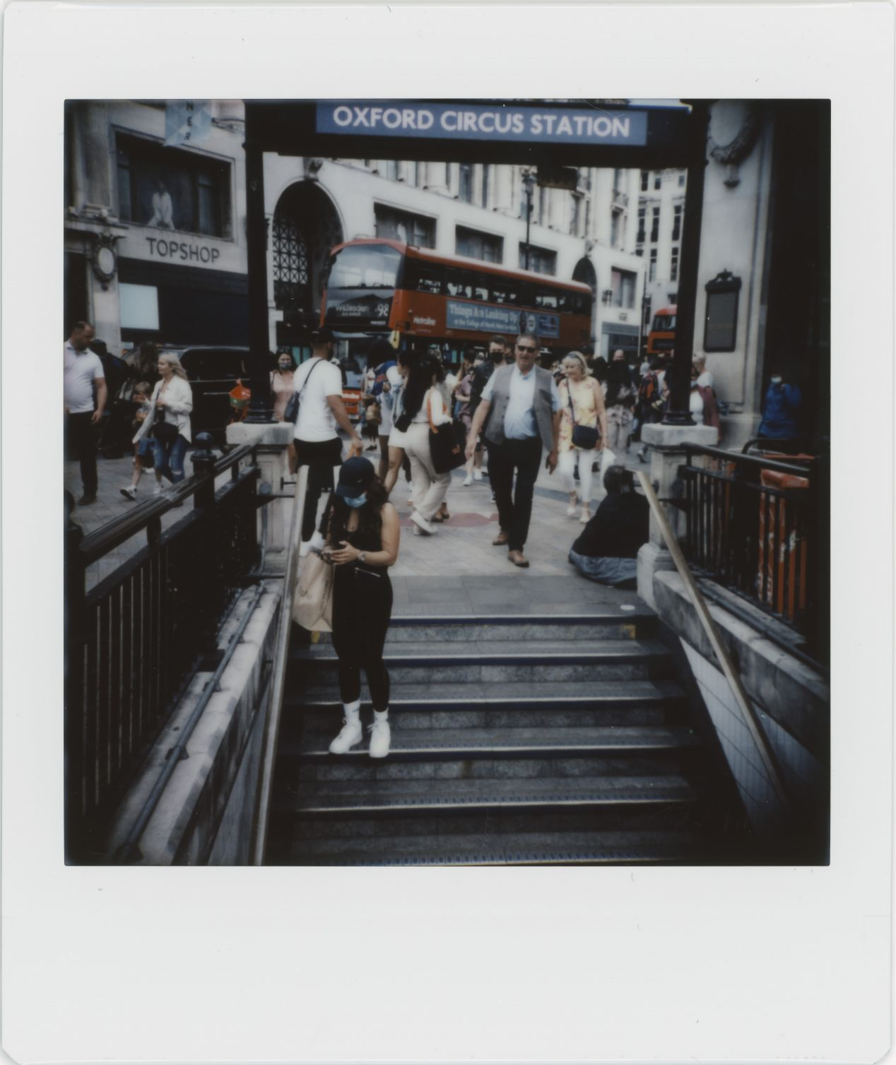 Photograph 18: Oxford Circus Underground Station.