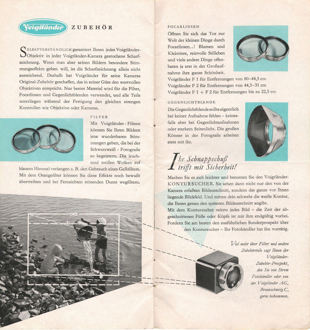 Vintage ad for Vitessa accessories.