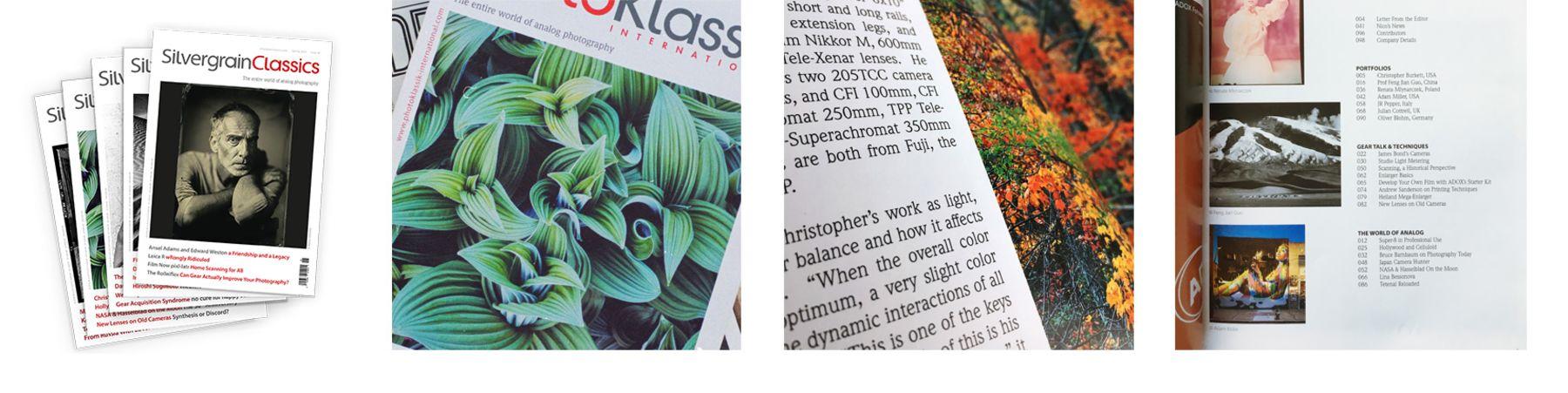 SilvergrainClassics: Premium quarterly publication on film photography