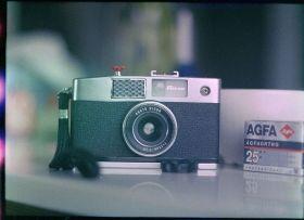 1961 Japanese 35mm Half-Frame