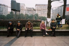 Testing the Canon Sure Shot AF-7 in Chongqing