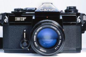 Canon EF, an FD-Mount 35mm SLR Camera