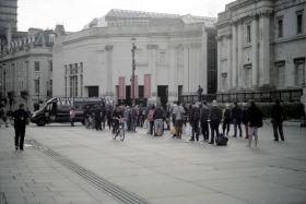 Trafalgar Square in the Time of COVID