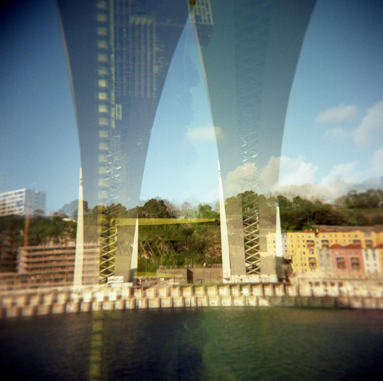 Ponte da Arrábida. Lomo Fisheye 2.