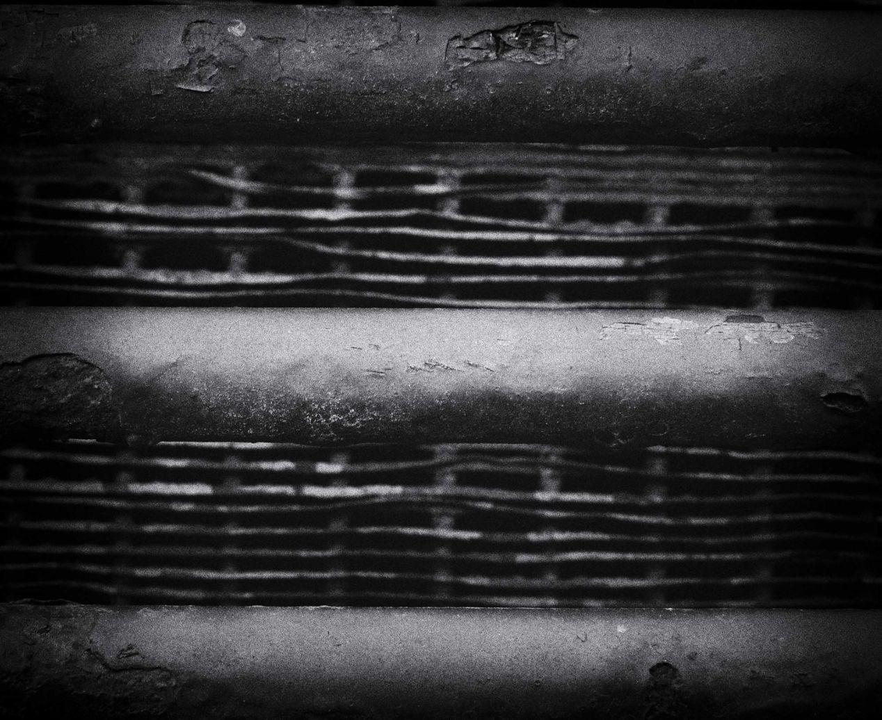 """Bars"" – shot on Ilford FP4+ with Mamiya RB67 and 90mm Sekor lens."