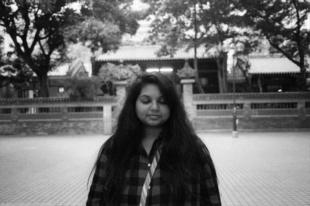 Sahitya, from India, living in Los Angeles, homemaker. She was thinking about her grandmother who recently passed away.