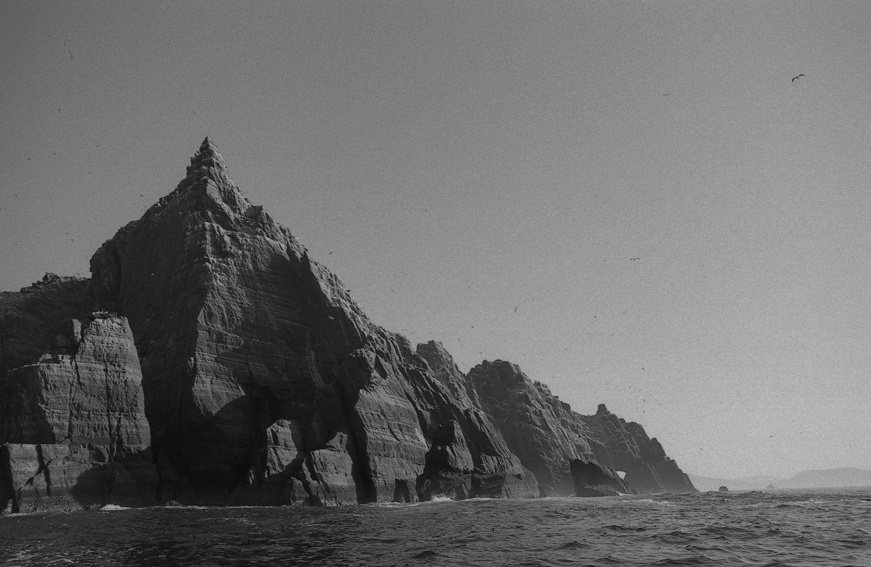 A Jurassic Island Little Skellig Ilford FP4, Olympus OM2n