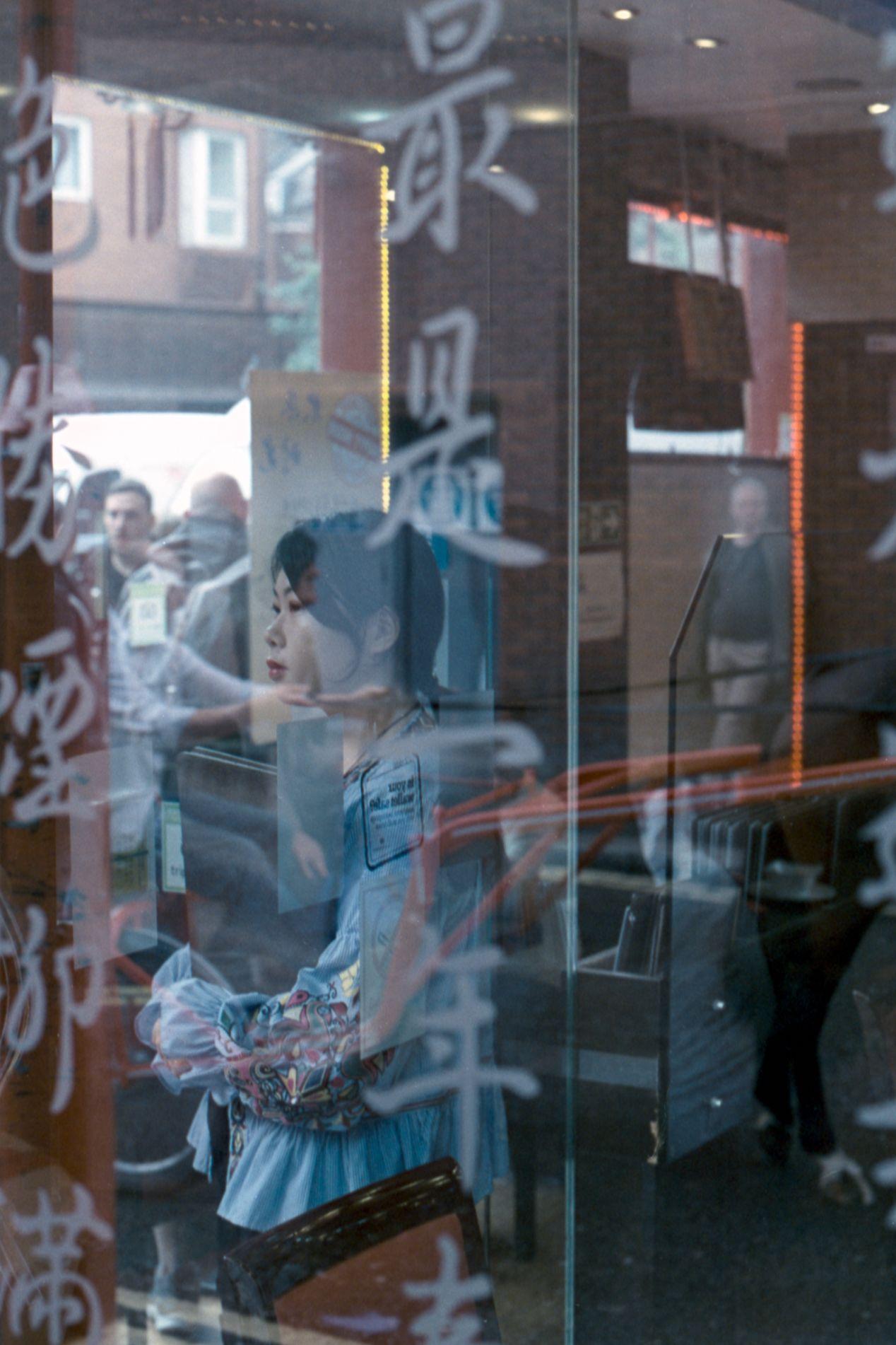 Service. Kodak Vision3 250D. Olympus OM10.