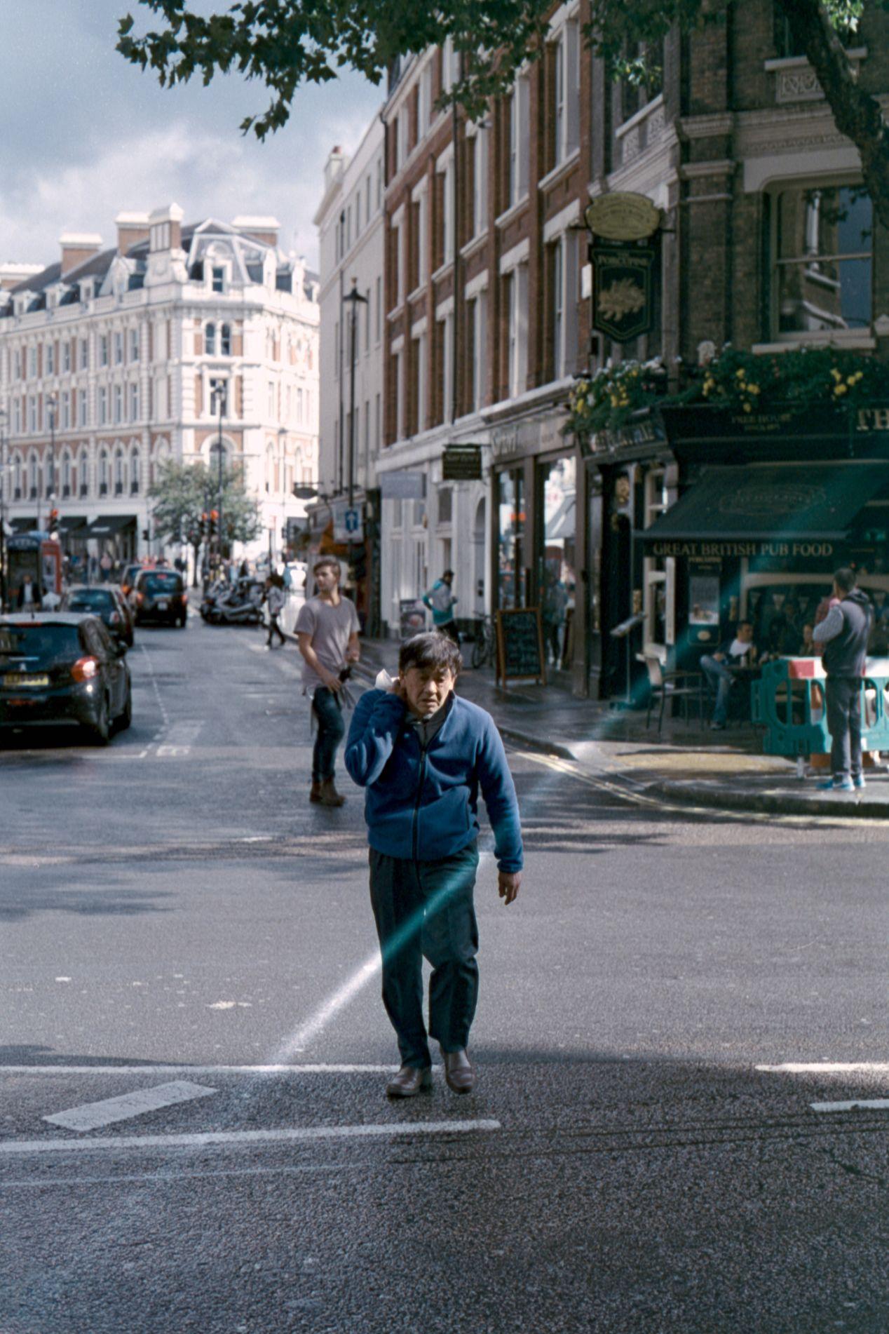 Solo Mission. Kodak Vision3 250D. Olympus OM10.