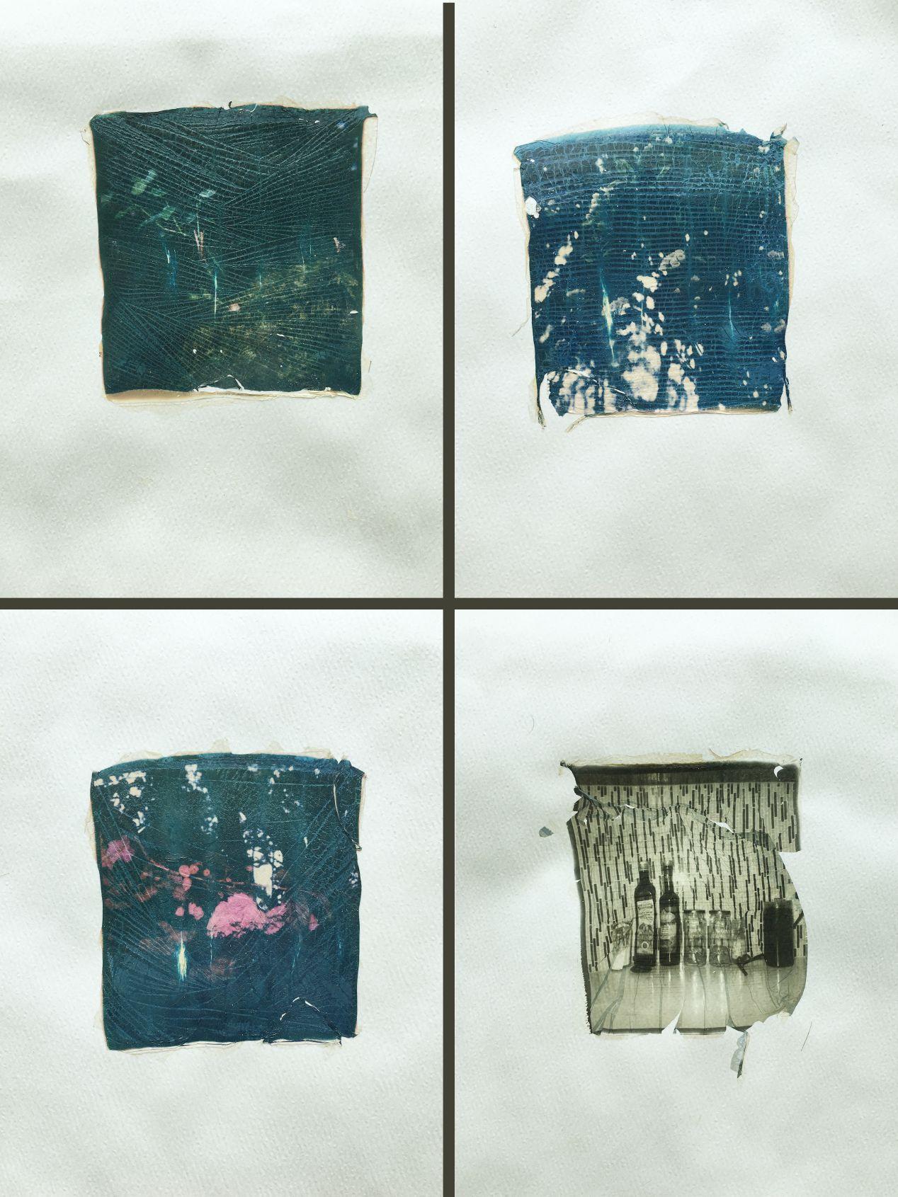 Unsatisfactory polaroid emulsion lifts.