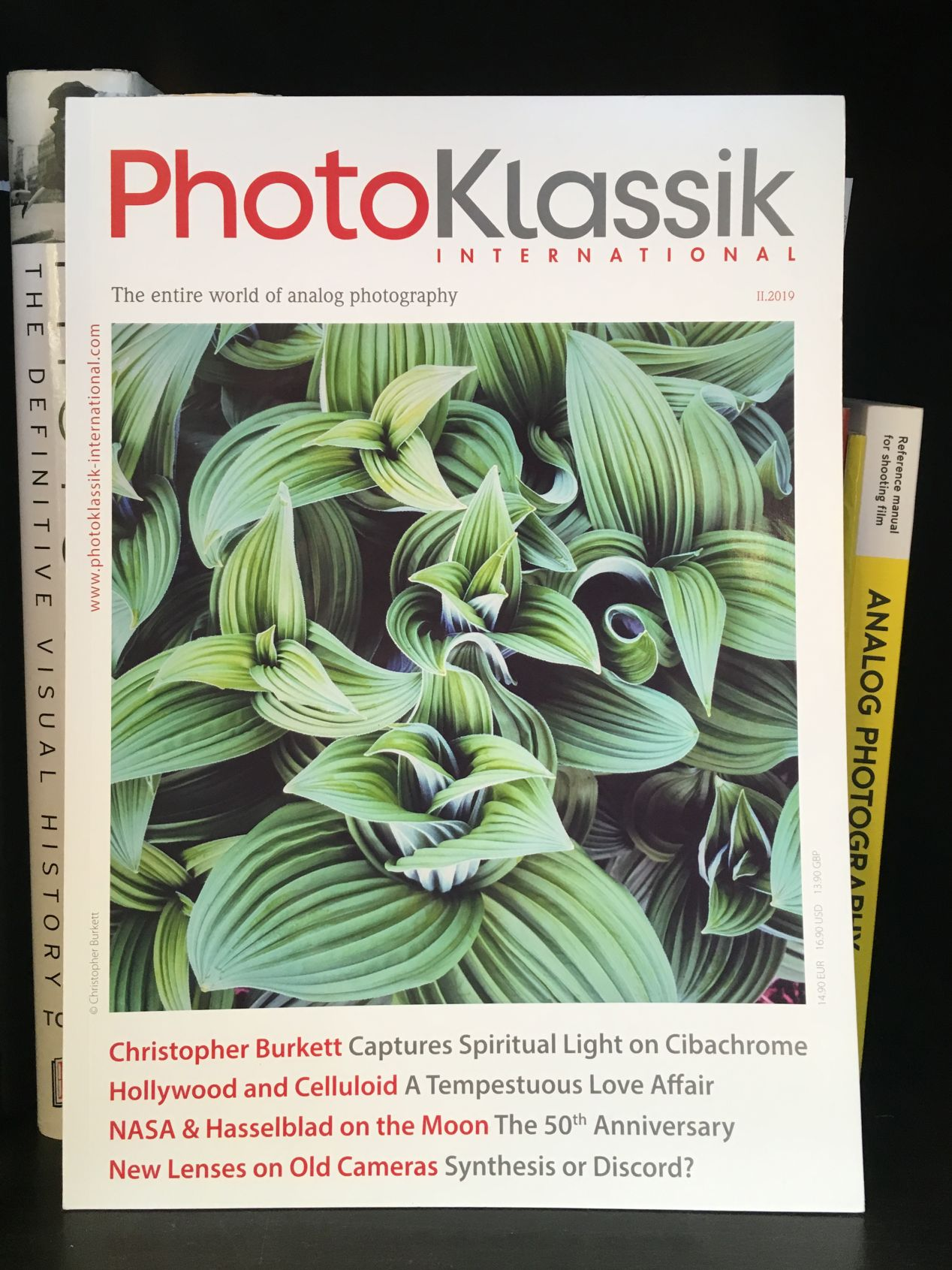 I chose the second issue for its cover. Burkett's mesmerizing photograph is an object which I felt I had to own. The magazine's perspective on Hollywood and its role in still photography also felt intriguing.