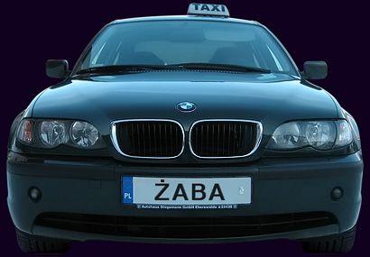 Taxi Żaba, Choszczno. Limuzyna BMW