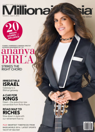 Ananya's First International Magazine Cover