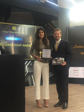 AISEC YOUTH LEADERSHIP AWARDEE – Ananya Birla