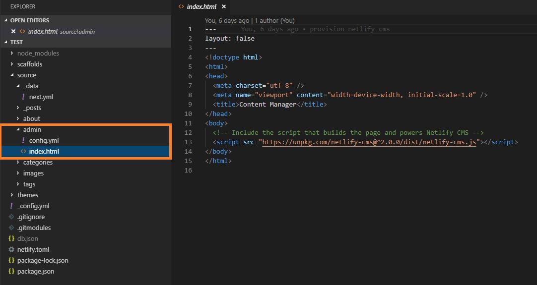 netlify_admin_folder