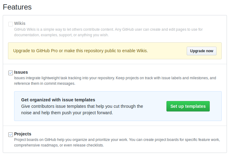 github_Private_repo_features