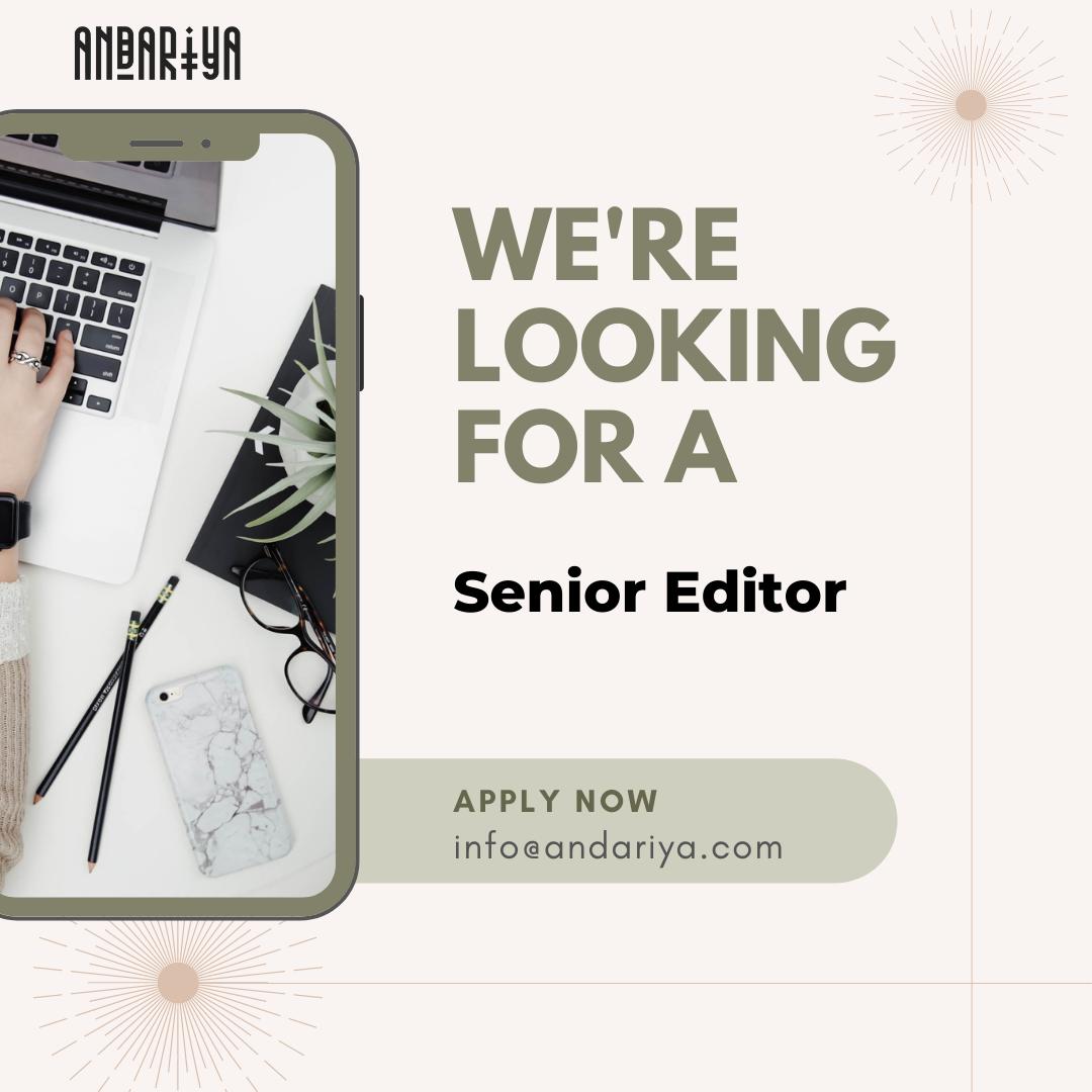 Senior Editor - Regional