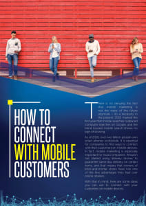 How to Connect with Mobile Customers