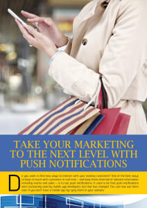 Take Your Marketing to the Next Level with Push Notifications