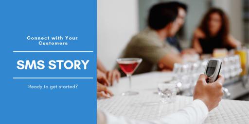sms stories restaurant video service