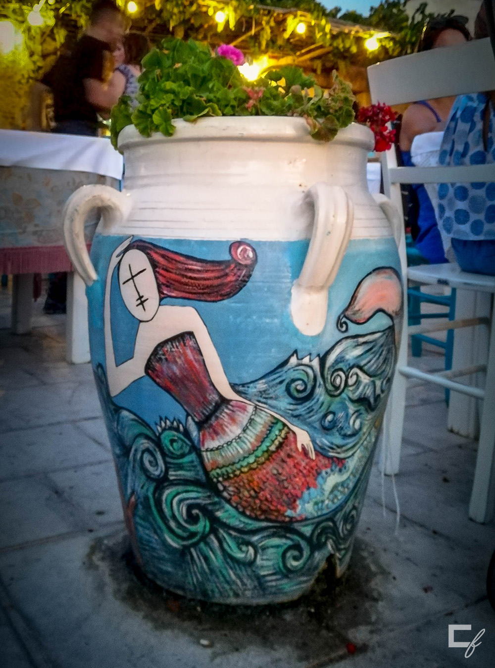 flower pot mermaid marzamemi