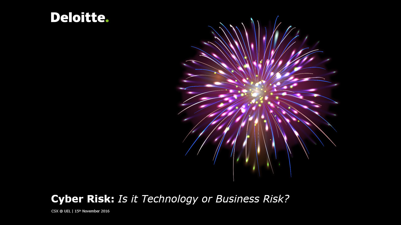 Cyber Risk: Is it Technology or Business Risk