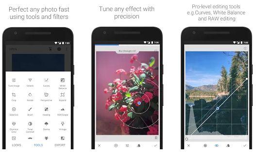 Aplikasi Edit Foto Terbaik Snapseed