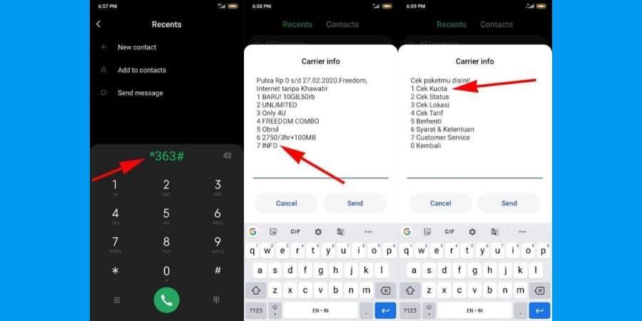 Cek Paket Data Indosat Melalui Kode Dial