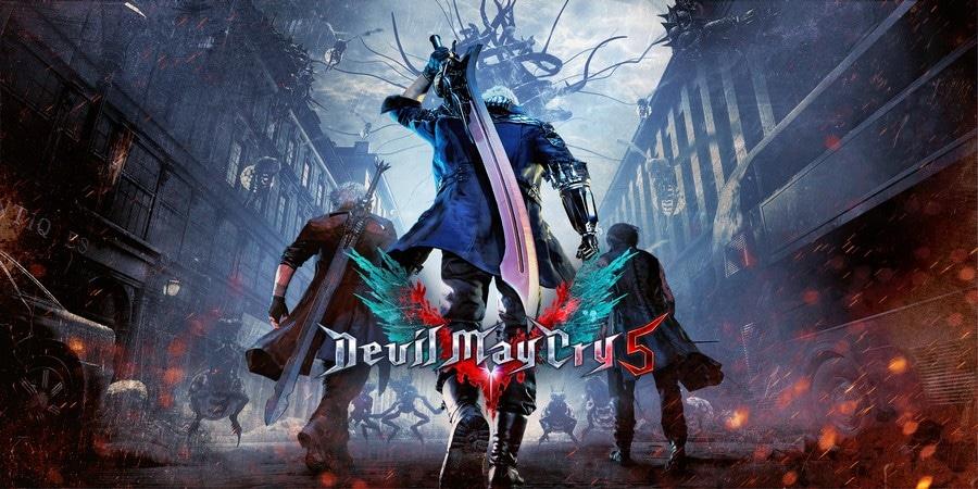 game petualangan offline terbaik Devil May Cry 5
