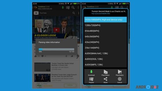 Cara Menyimpan Video Youtube ke Galeri dengan TubeMate