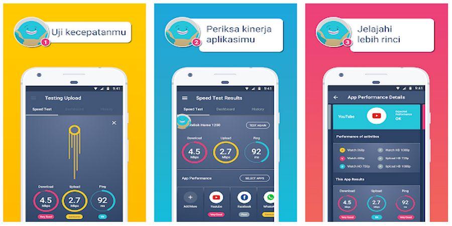 Cara Cek Kecepatan Internet di Android Meteor