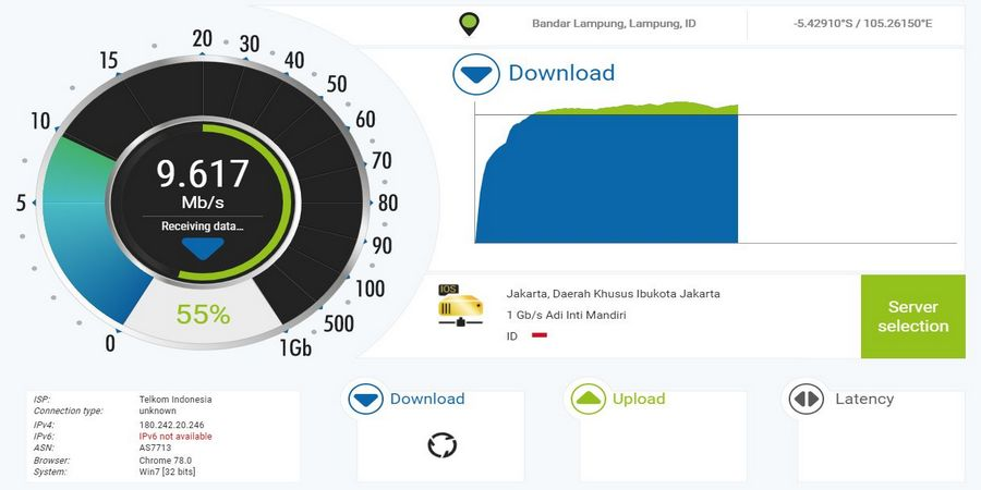 nPerf Internet Speed Test
