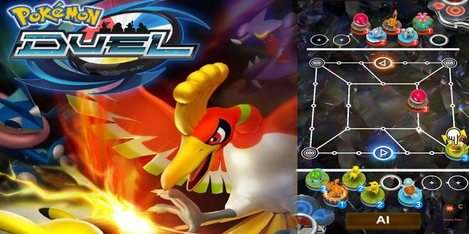 Game Anime Android Offline Pokemon Duel
