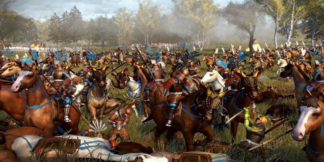 Game Strategi Perang Offline Total War: Shogun 2