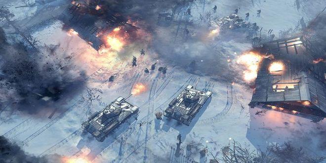 Game Strategi Perang Offline Company of Heroes 2