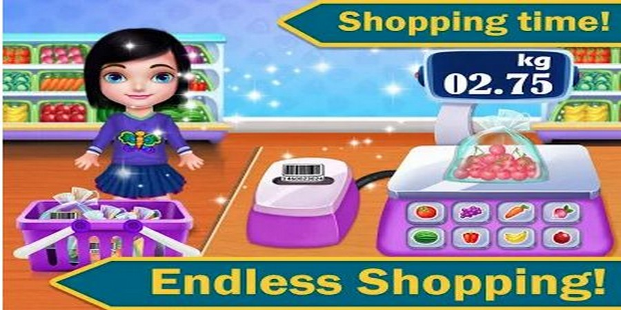 Supermarket Shopping Mall & Toy Zone