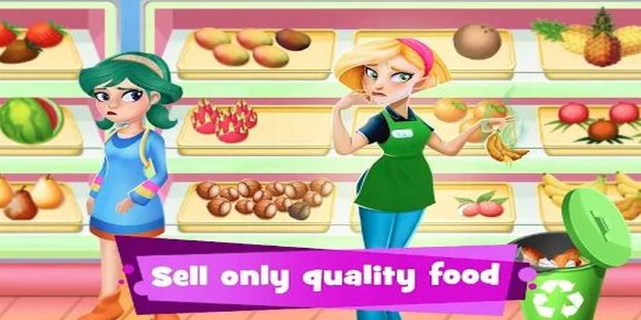 Game Supermarket - Supermarket Manager Cashier Simulator Kids Games