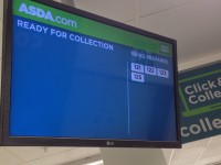 George Click and Collect  Display