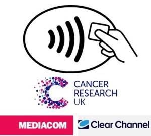 Clear Channel Media Com Cancer Research logo