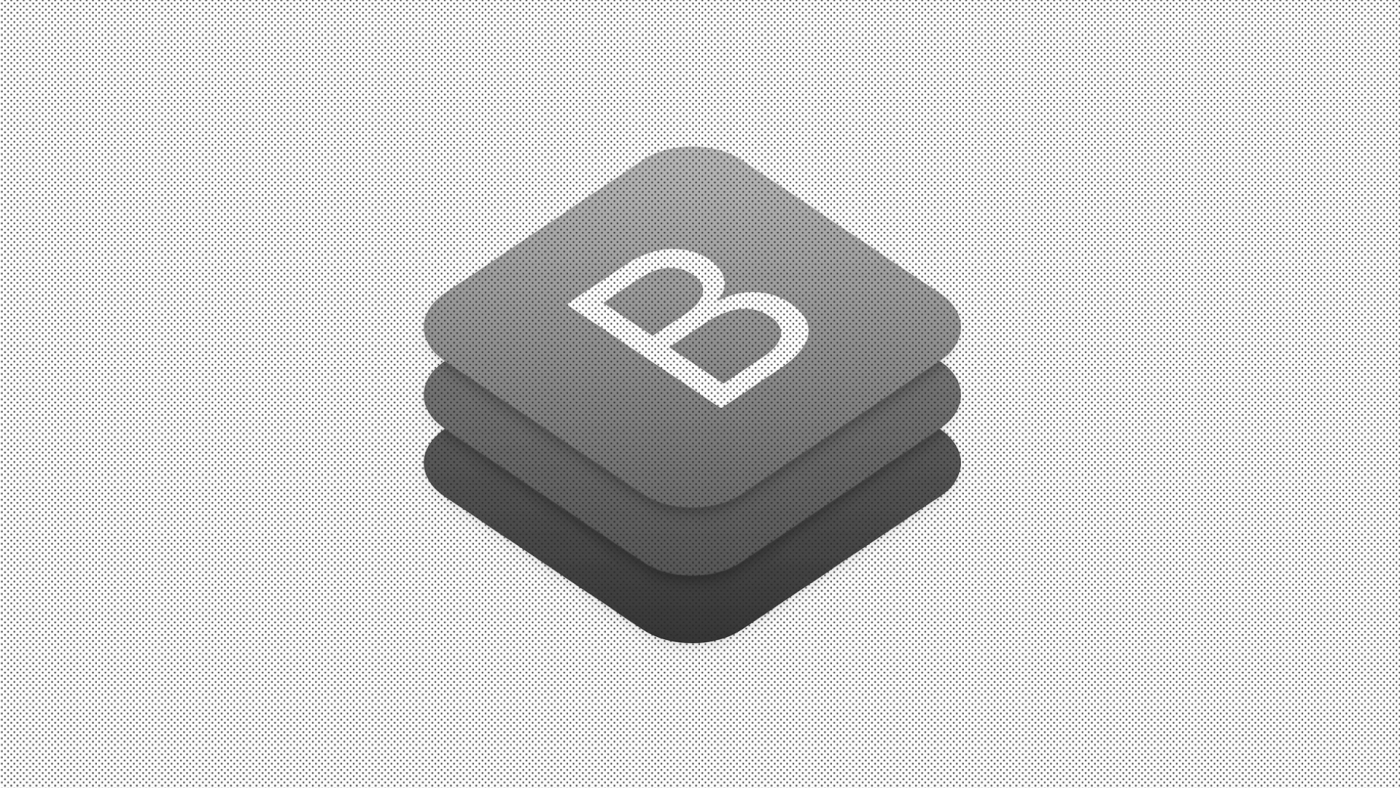 The Bootstrap logo