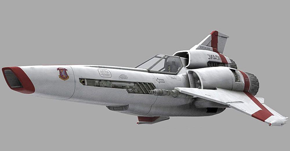 BSG Viper MK2 3d model