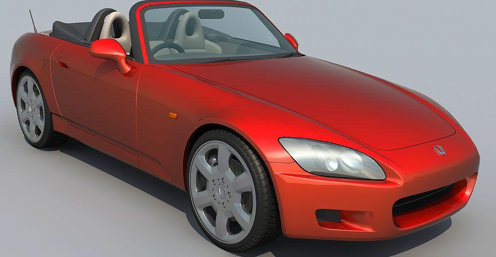 Honda s2000 3d model