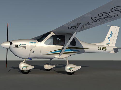 Jabiru 160C 3d model
