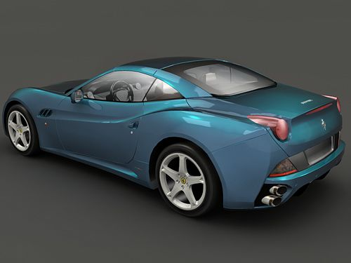 Ferrari California 3d model