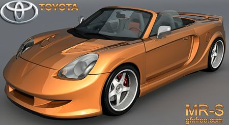 Toyota MRS Veilside 3d model