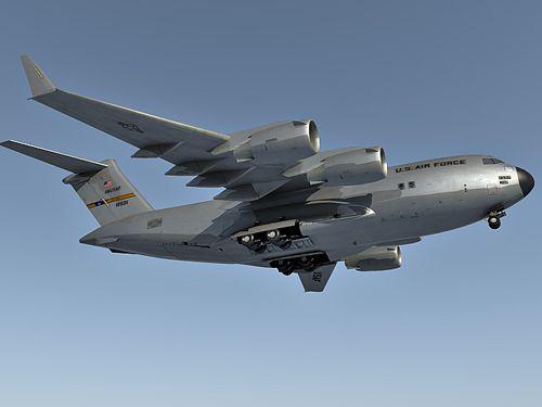 Boeing C-17 Globemaster 3d model