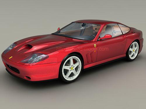 Ferrari 575M Maranello 3d model