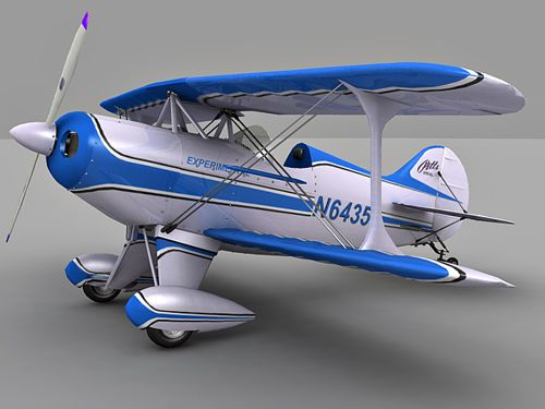 Pitts Special Aircraft 3d model